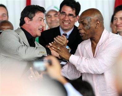 Майк Тайсон включен в Международный зал славы бокса. Июнь 2011 г.