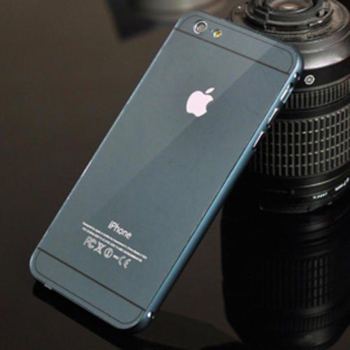 Металлический бампер 0.7мм с пластиковой крышкой Графит для IPhone 7