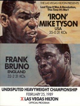 36-й профи-бой Железного Майка: Тайсон vs Бруно.
